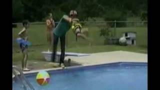 Funny pool accidents