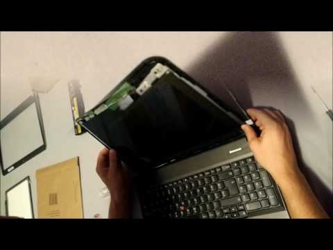 Laptop Screen Replacement / How To Replace Laptop Screen [LENOVO THINKPAD EGDE E540]
