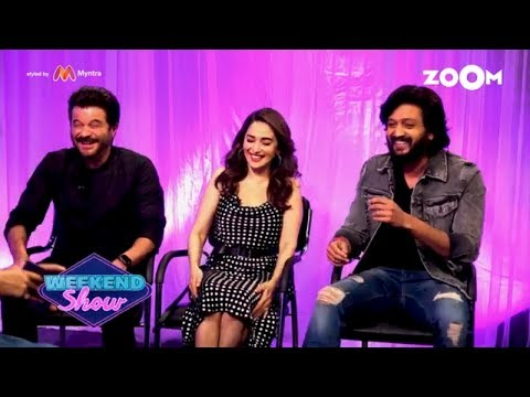Total Dhamaal | Anil Kapoor, Madhuri Dixit, Riteish Deshmukh | Interview & Review| Zoom Weekend Show
