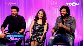 Total Dhamaal   Anil Kapoor, Madhuri Dixit, Riteish Deshmukh   Interview & Review  Zoom Weekend Show