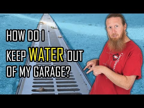 How Do I Keep Water Out of My Garage Video | Garage Flooding Problems | Prevent Garage Flooding