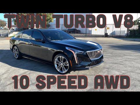 2020 Cadillac CT6-V Blackwing V8 - YouTube