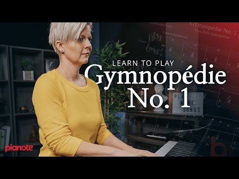 """How To Play """"Gymnopédie No. 1"""" (Easy Classical Piano Lesson) 🎹✨"""