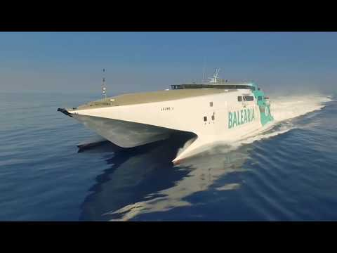 Fast ferry JAUME II