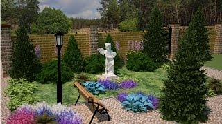 ландшафтный дизайн участка. Фото идеи(Только самые оригинальные идеи для дизайна дачного участка. Обустройство сада и ландшафтный дизайн. Креати..., 2014-09-18T09:43:20.000Z)