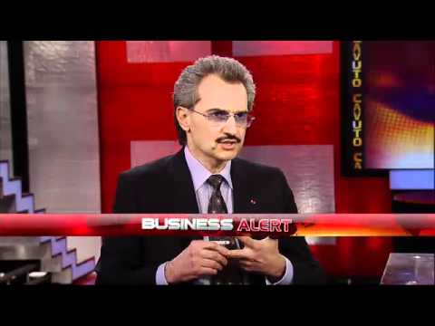 Prince Alwaleed Bin Talal on the Turmoil in Mideast-Fox Business.P2/4