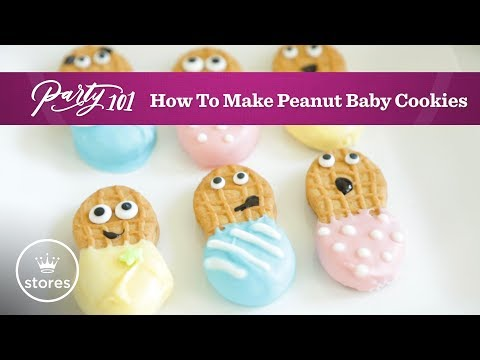 How to Make Peanut Butter Baby Cookies   Party 101