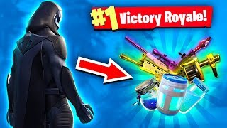 WORLD'S LUCKIEST LOOT IN FORTNITE!!!! (Fortnite Battle Royale Gameplay)