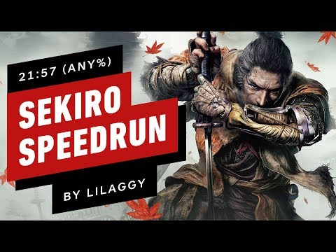 sekiro:-shadows-die-twice-speedrun-finished-in-under-22-minutes-(by-lilaggy)