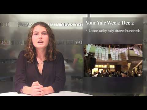 Your Yale Week: Dec. 2, 2016