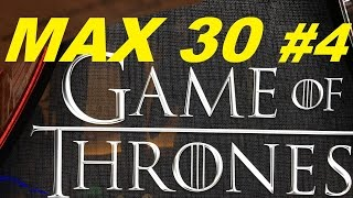 ★MAX 30 ( #4 ) New Series ! ★☆GAME OF THRONES Slot machine ☆$5.00 MAX BET(SlotTraveler & Todd Bell REQUEST**** at Harrah's Resort So Cal New Series