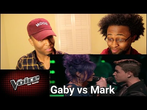 The Voice Battle (Reaction) - Gaby Borromeo vs. Mark Isaiah: