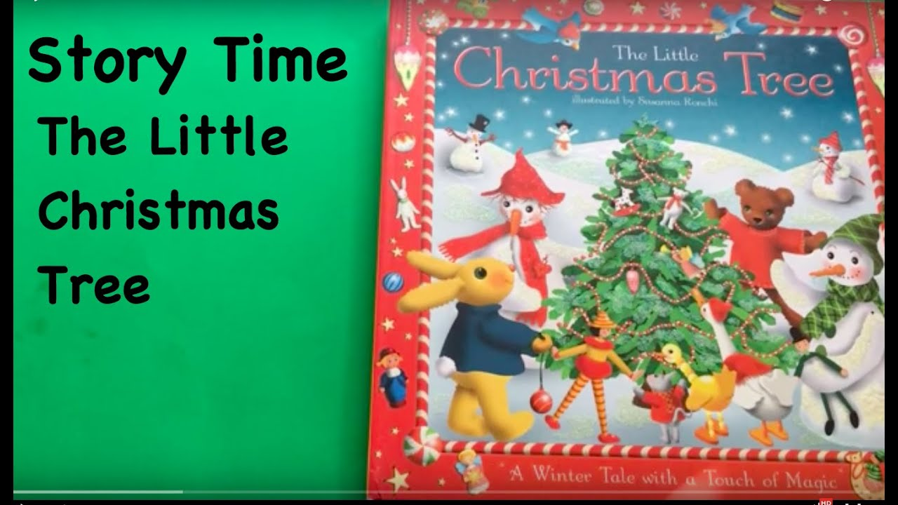 story time the little christmas tree