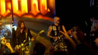 "Sabaton Live Sabaton Cruise 2012 ""The Book Of Heavy Metal"" *With Snowy Shaw*"