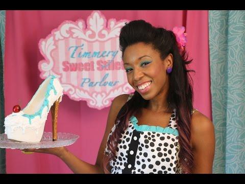 Timmery's Sweet Stiletto Sundae Tutorial -  DIY Shoe Revamp