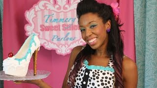 Timmery's Sweet Stiletto Sundae Tutorial -  DIY Shoe Revamp