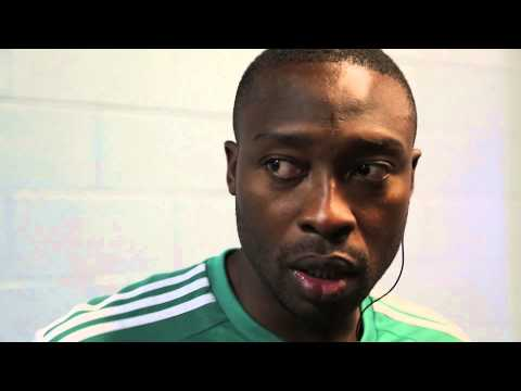 Nigeria vs. Greece: Post-Match Interview with Shola Ameobi