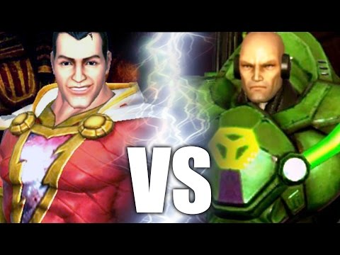Shazam VS Lex Luthor (Boss) Battle Gameplay #2 | Justice League: The Game