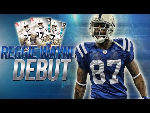 Madden NFL 16 Ultimate Team 97 Reggie Wayne Debut Gameplay + Lifestream And Giveaway Announcement!