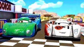 Тачки - Быстрые как Молния игра про Мультики Disney Cars для Детей - Видео про Гоночные Машинки