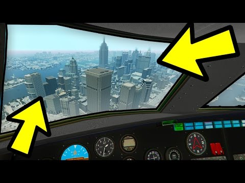 YOU CAN FLY TO LIBERTY CITY IN GTA 5!!