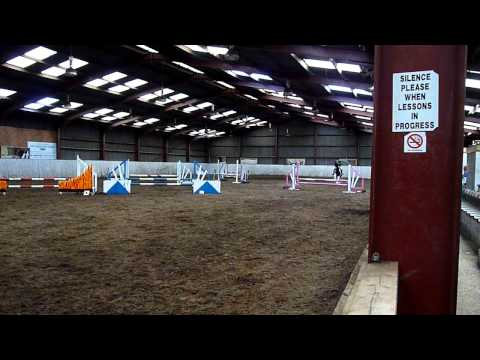 Me and Lucy 70cm BSJA Club Show Jumping at Maelor EC :)