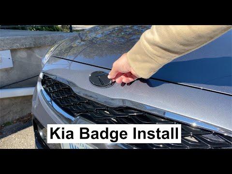 Kia 3.0 Badge Install