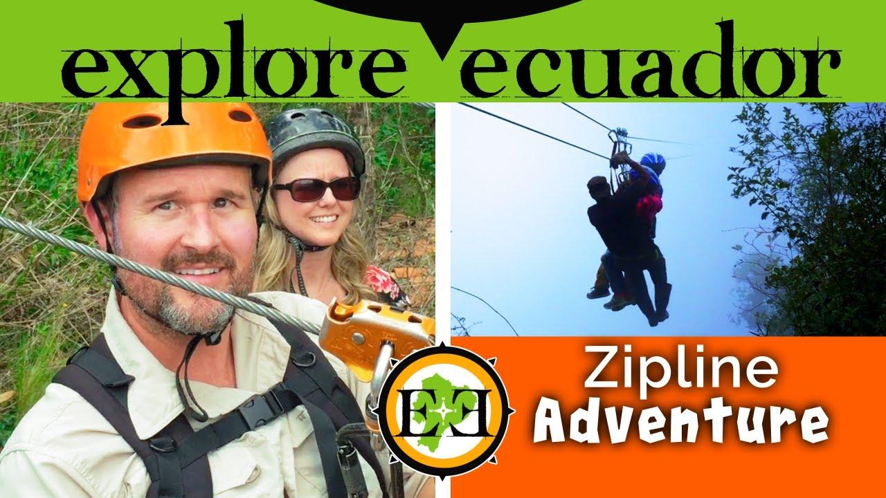 Amazing Adventure! Ziplining Cuenca Canopy and Girón El Chorro