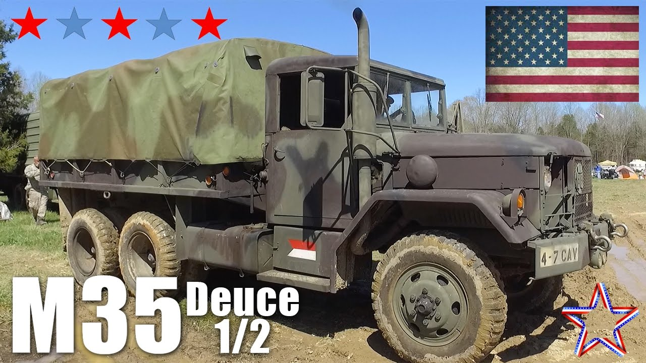 Top reasons to own an M35 Deuce and a Half - YouTube