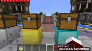 Minecraft  pe Bed wars a nasıl girilir