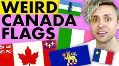 Obscure flags from Canada