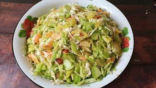 Так Просто но Так Вкусно! Салат из Зелёных Помидоров