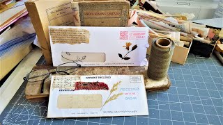 PRETTY  ENVELOPES out of JUNK MAIL ENVELOPES! For JUNK JOURNALS! Easy and Zen! The Paper Outpost! :)