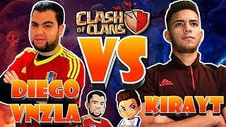 DiegoVnzla Vs KiraYT - 1 Vs 1 Duelo Contra Invitados | | Clash Of Clans