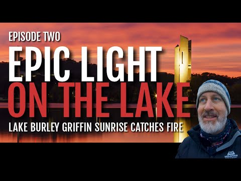 Landscape Photography in Canberra: Lake Burley Griffin