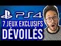 PS4 : 7 nouvelles exclusivités dévoilées 🔥