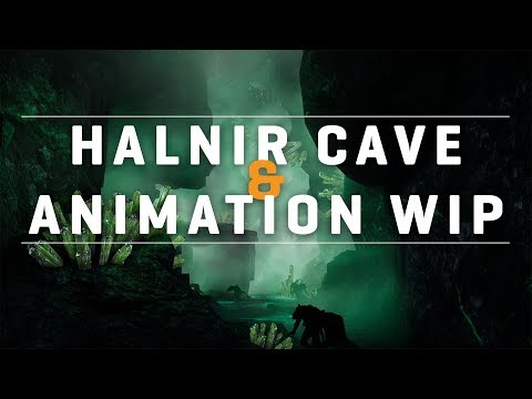 Pantheon: Rise of the Fallen Pre-Alpha Halnir Cave and Animation WIPs w/ CohhCarnage