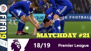 WELSH DAVID VERSUS LONDON GOLIATH: MATCHDAY 21 PREMIER LEAGUE #ePL (FIFA 19)