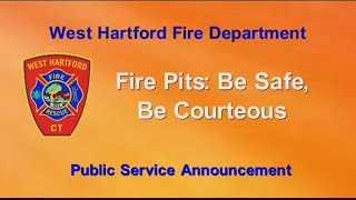 Fire Pits: Be Safe, Be Courteous