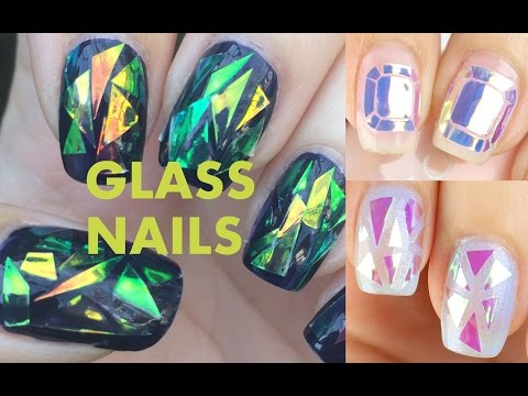 DIY or BUY:  Glass Nails (Korean Nail Trend)