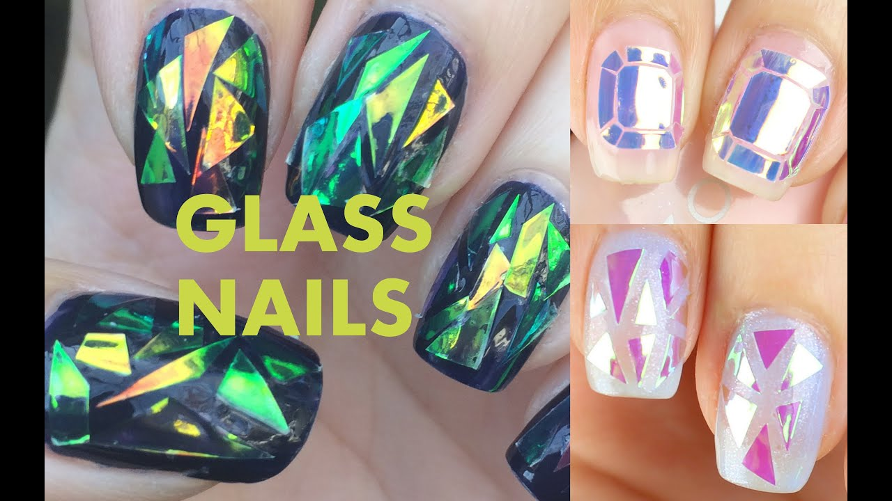 DIY or BUY: Glass Nails (Korean Nail Trend) - YouTube