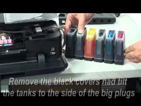 how to change the empty ink of canon mg 3520