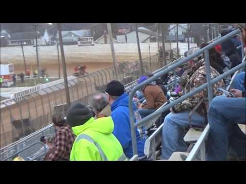 AJ Flick 410 Sprint Port Royal Speedway March 25, 2017