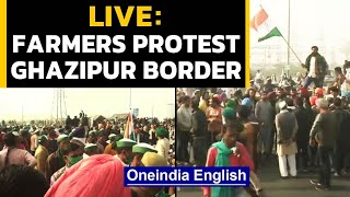 Farmers protest at Ghazipur border | Day 8 live | OneIndia News