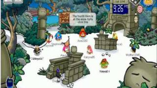 Club Penguin - Adventure Party Scavenger Hunt and Free Items Guide ( HQ) WOOT WOOT!