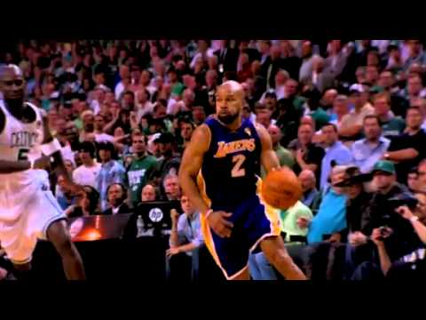 Derek Fisher Steals It And Layup (2010 Finals-Game 3)