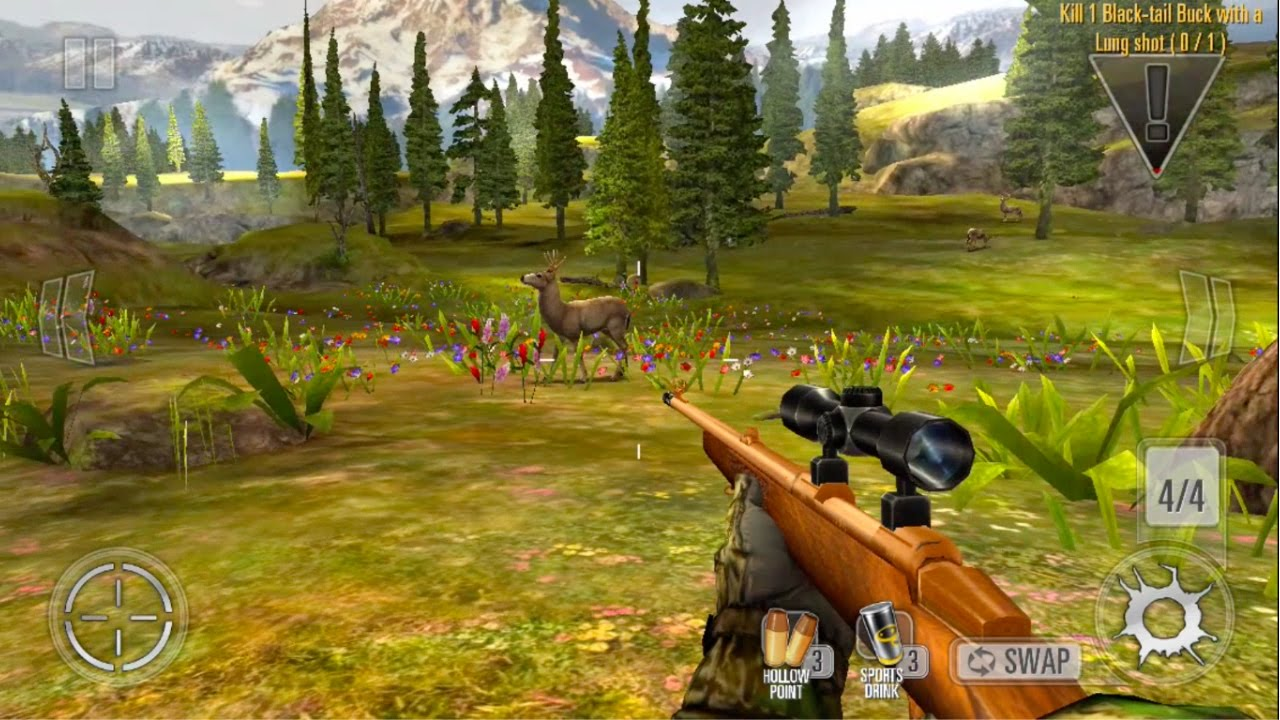 Deer Hunter classic games for iPhone & Android Device