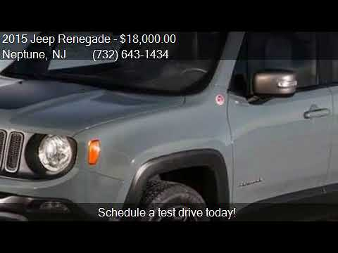 2015 Jeep Renegade Trailhawk 4x4 4dr SUV for sale in Neptune