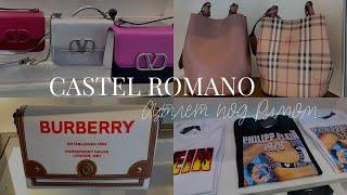 Шоппинг в Италии 🇮🇹 Римский аутлет Castel Romano