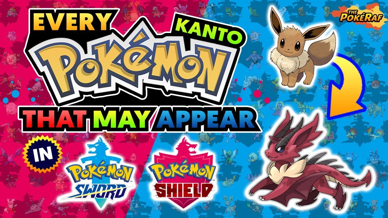 Every Kanto Pokemon That Could Return In Pokemon Sword And Shield